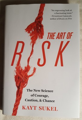 The Art of Risk book cover - Kayt Sukel - method, style, review