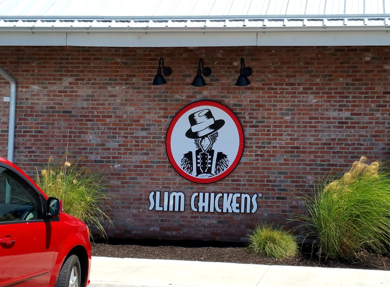 Slim Chickens  © Paul H. Byerly