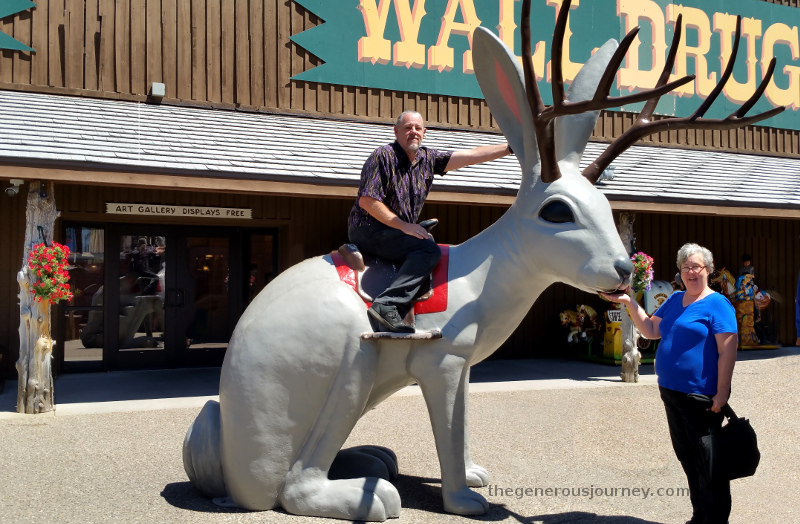 Jackalope at Wall Drug © Paul H. Byerly