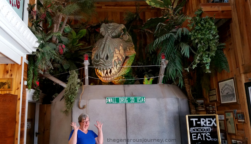 T-Rex at Wall Drug © Paul H. Byerly