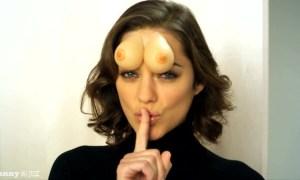 forehead-tittaes-marion-cotillard