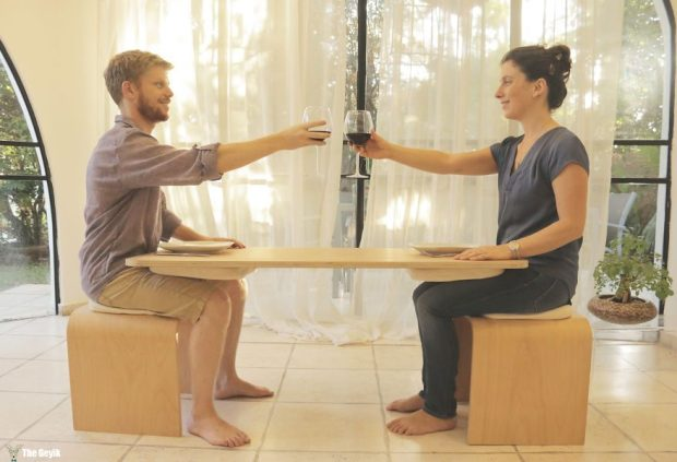 yemeği bitirmenizi mecbur kılan sevgili masası 5