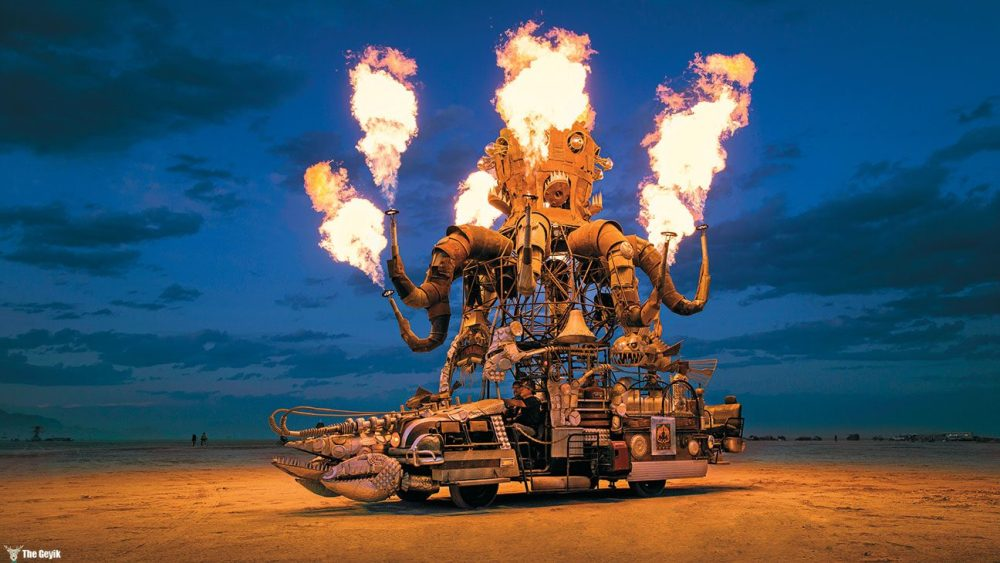 Photo from BURNING MAN: ART ON FIRE, Second Edition. Race Point, 2016