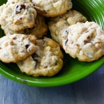 White Chocolate Cranberry Pecan Cookies - Cooking with Kids - The Gifted Gabber-19
