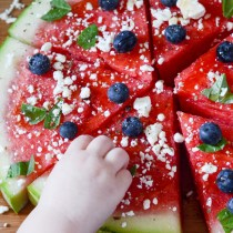 Watermelon Pizza - The Gifted Gabber
