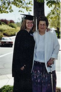 BYU graduation with my incredible grand-Mother