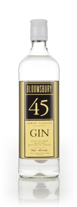 Bloomsbury Lemon Gin Bottle Photo