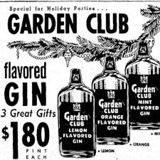 lemon gin ad beckley, west virginia