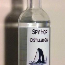 Spy Hop Gin Bottle