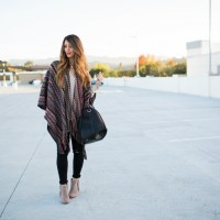Perfect Poncho + Booties