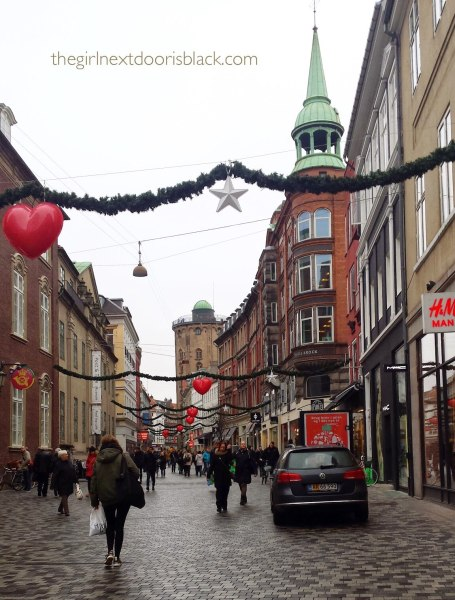 Strøget in December, Copenhagen Denmark | The Girl Next Door is Black