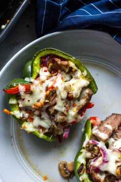 Small Of Cheesesteak Stuffed Peppers