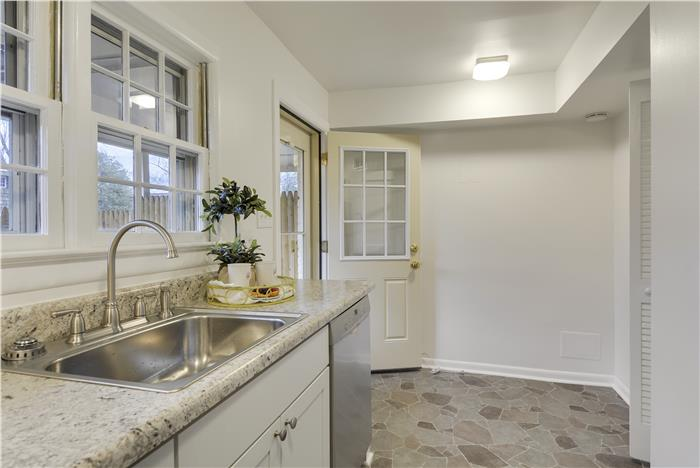 FALLS CHURCH TOWNHOME for sale Renovated Kitchen - 220 S. Virginia Ave Falls Church VA Listed by The Girls of Real Estate