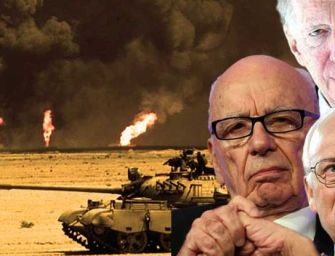 Cheney, Rothschild, And Murdoch Begin Drilling For Oil In Syria — A Violation Of Int'l Law
