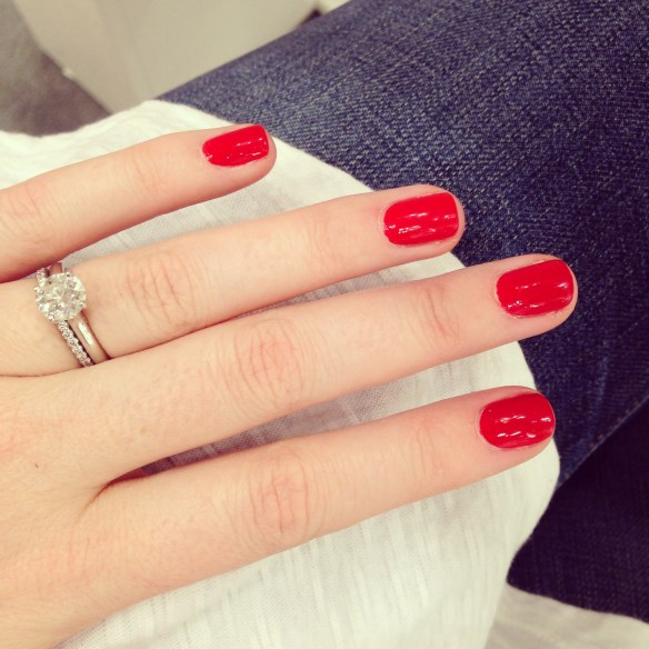 essie lacquered up