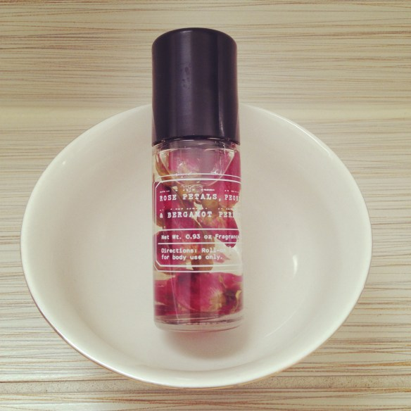 urban outfitters petal perfume oil