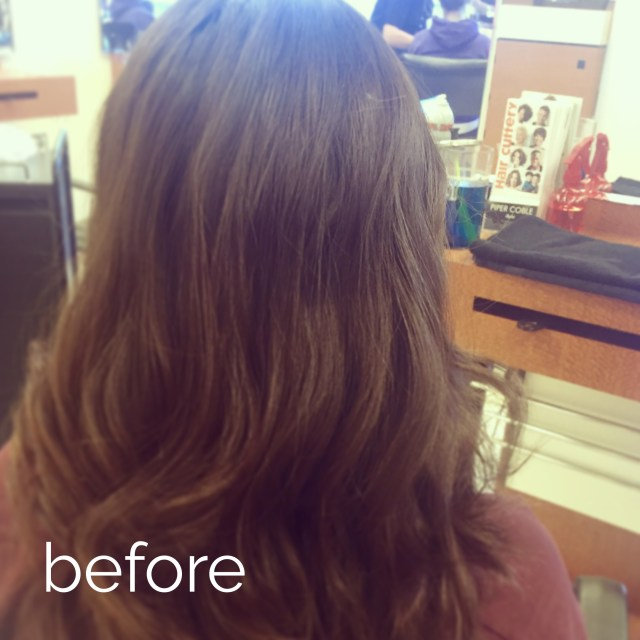 stefanie ramos hair cuttery before