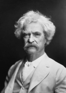 Mark Twain is one of America's favorite glossophiles.