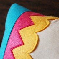 DIY Felt Accent Pillows