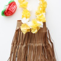 DIY Halloween Costume Winner, and Hula Girl Tutorial
