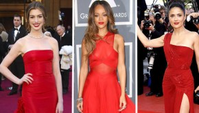 $25 CONTEST: Celebrities In Red Dresses: Who Looks Best?
