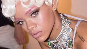Rihanna Gets Sexy For 'Pour It Up' Video BTS Photos