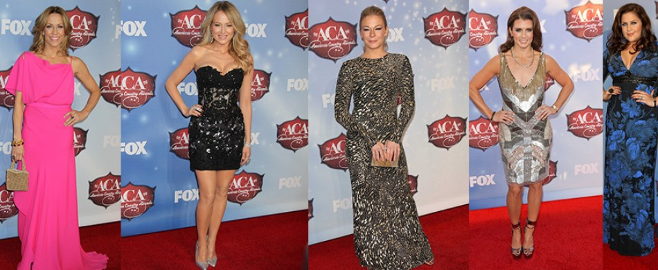 2013 ACA red carpet fashion