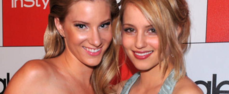 Heather Morris and Dianna Agron return to Glee