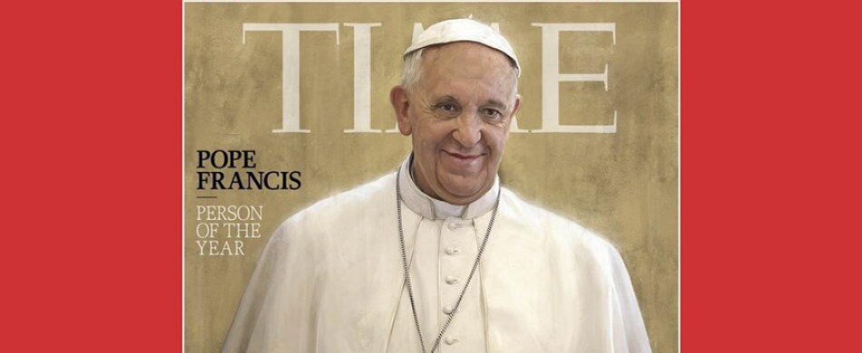 Pope Francis named Person of the Year by Time