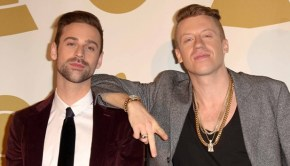 Ryan Lewis and Macklemore at GRAMMY Nominations