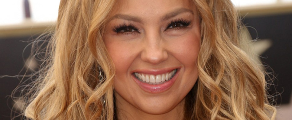 Thalia Honored with a Star on the Hollywood Walk of Fame