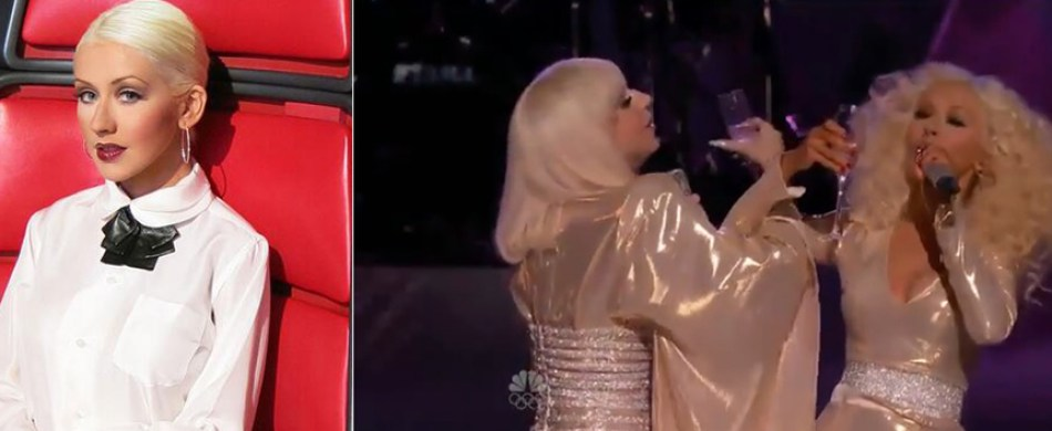 christina aguilera duets with lady gaga