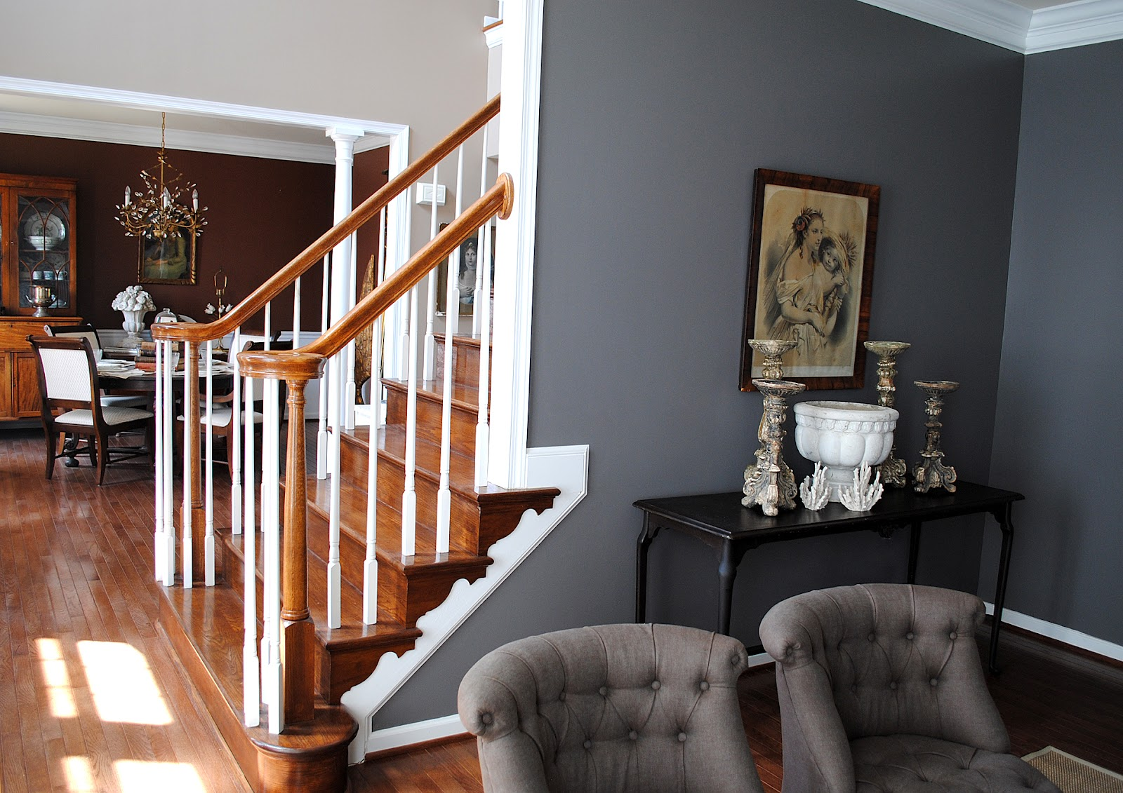 Picturesque My Living Room Big Graphics Fairy Sherwin Williams Gauntlet Grey Cabinets Sherwin Williams Gauntlet Reviews houzz-02 Sherwin Williams Gauntlet Gray