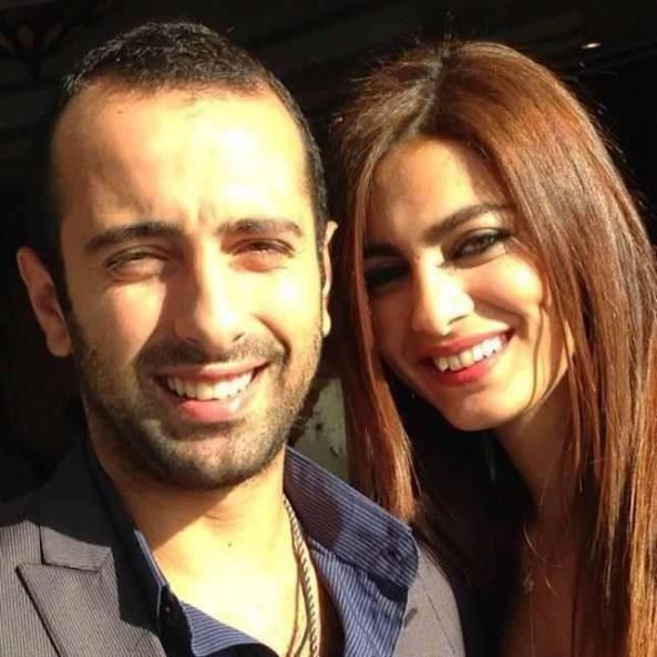 Meriam George, Miss Egypt 2005, got engaged.