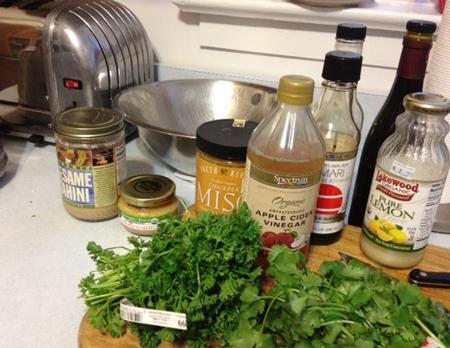 green diva meg's goddess tahini sauce
