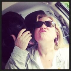 GD Meg & Gracie in Toyota Prius Plugin #PluginforCharity