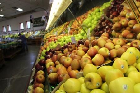 produce at DePiero's farm