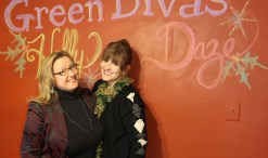 Green Divas Holly Daze in the GD Studio