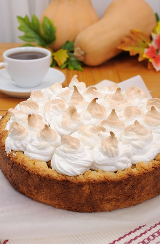 pumpkin meringue