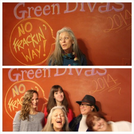 Deb Thomas and the Green Divas @ the Green Diva Studio
