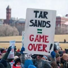 tarsands keystone xl pipeline protest