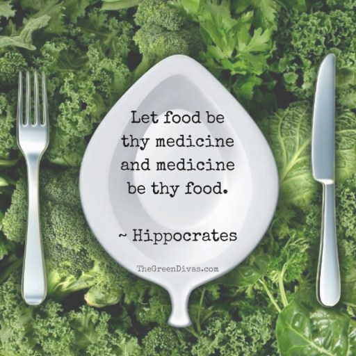 """Let food be thy medicine and medicine-2 (640x640)"