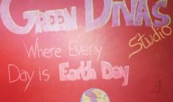 Green Divas Earth Day 2014 studio image
