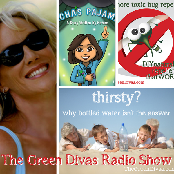 green divas radio show collage