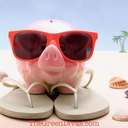 Travel Pig, travel green