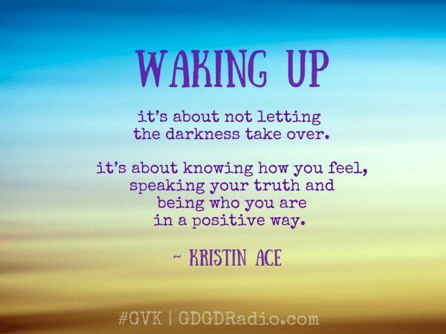 waking up #quote