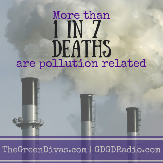 1 in 7 deaths due to toxic pollution