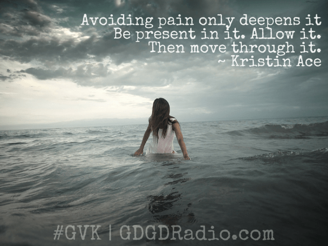 Avoiding pain quote by GVK