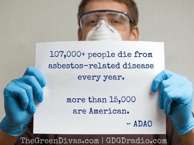 asbestos kills over 107,000 people each year