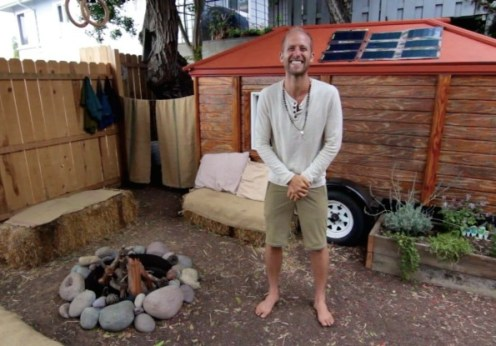 Rob Greenfield's off grid tiny house